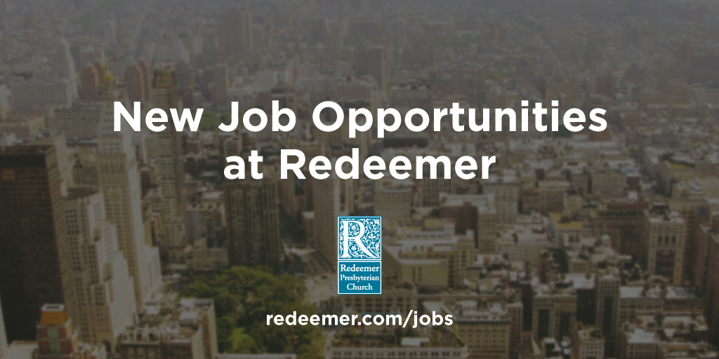 Employment Redeemer Churches And Ministries
